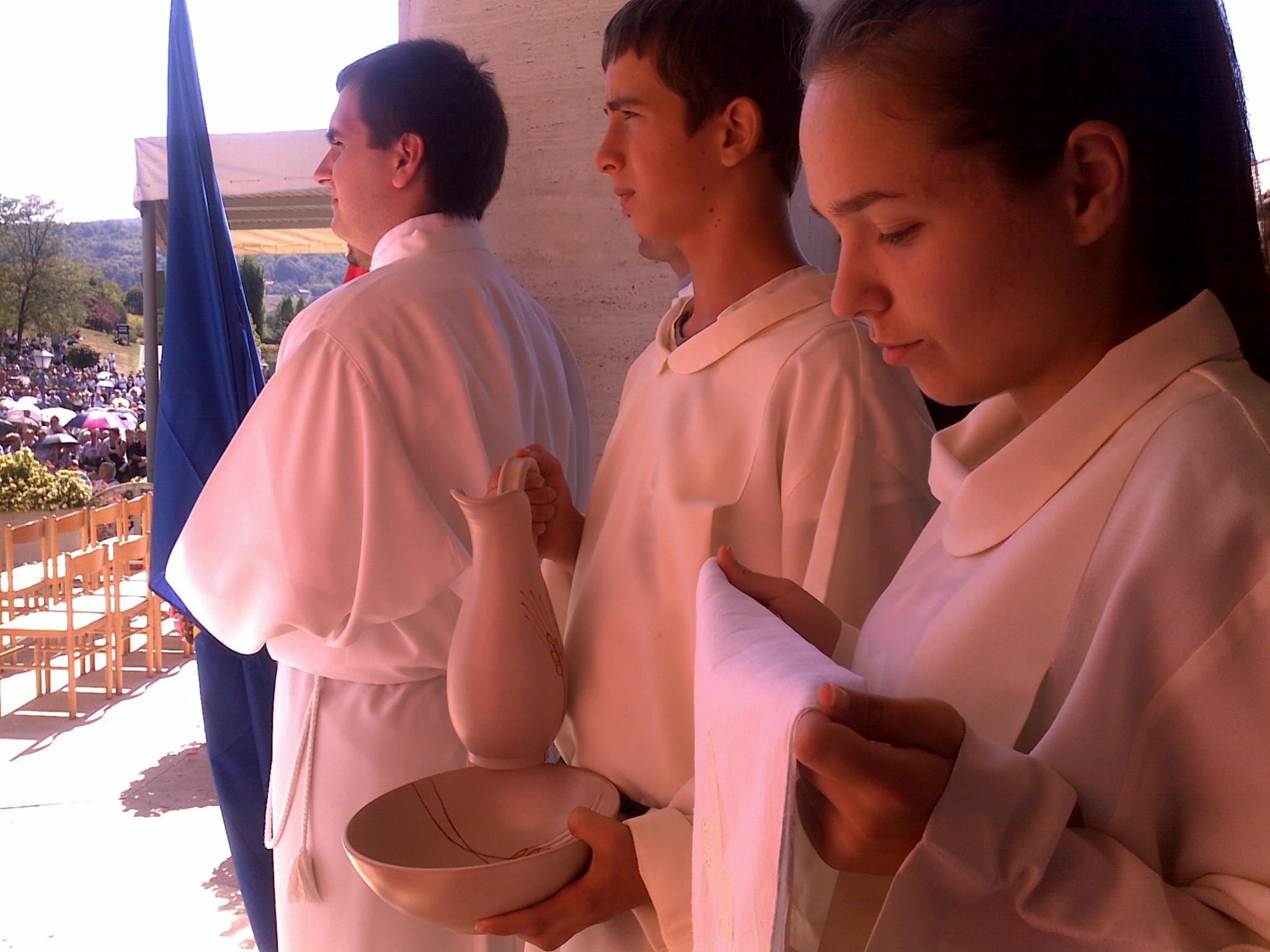Ministranti u Mariji Bistrici